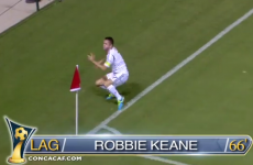 Scrubber and a cheeky dink as Robbie Keane's scoring streak continues