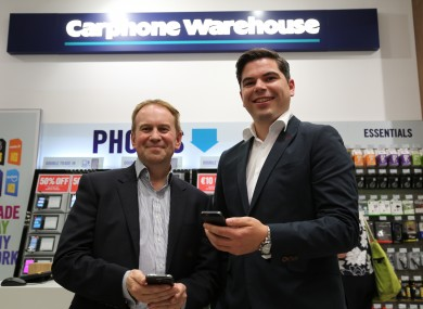 Peter Scott, MD Carphone Wareh