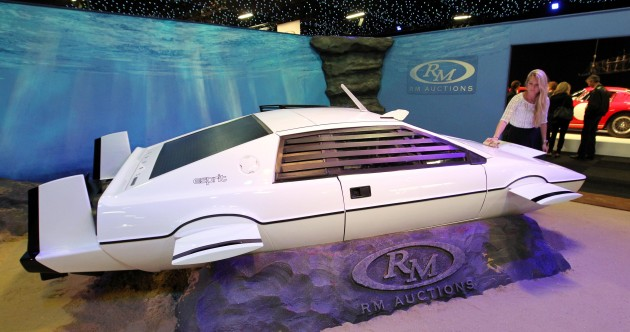 Fancy owning James Bond's submarine car?