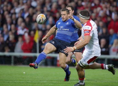 Jimmy Gopperth has started all four of his games for Leinster in the 10 jersey.
