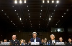 Pics: John Kerry makes the case for military intervention