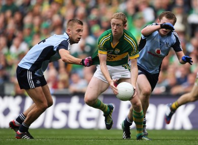 Colm Cooper in action against the Dublin defence last month.