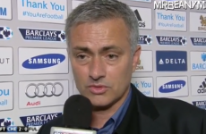 'I think you are very good, but Chelsea manager is not Jamie Redknapp' – Jose Mourinho