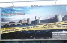 Complaint over 'Limerick crime scene' Irish Examiner ad not upheld