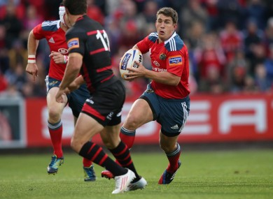 Keatley leads the way at outhalf for Munster.