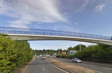 N11 closes briefly this morning after man threatened to jump off bridge