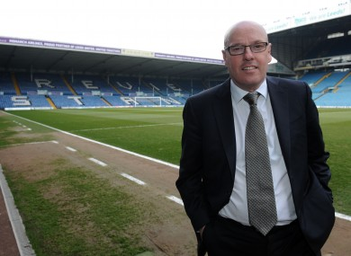 Staying put: Leeds United manager Brian McDermott.