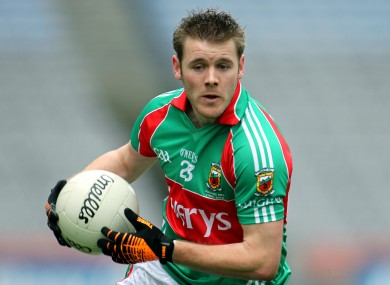 Aidan Kilcoyne in action for Mayo in 2010. (file photo)