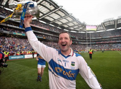 Tipperary goalkeeper Brendan Cummins after the 2010 All-Ireland final.