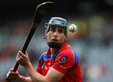 Eyes on the prize: Conor Cooney was the late saviour for St Thomas.