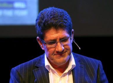 Paul Kimmage (file photo).