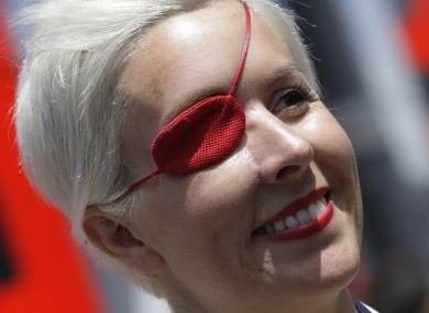Maria de Villota at the Spanish Grand Prix in May.