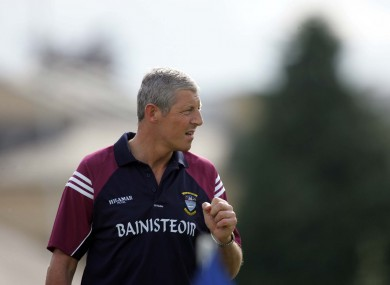 Tomas O'Flaharta, pictured here in his role as Westmeath boss, in 2006.