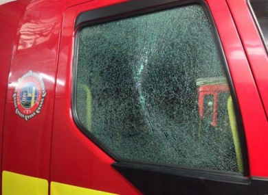 Another fire engine is badly damaged, this time in Waterford.