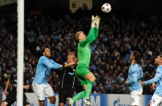 Look who's back! Joe Hart returns as Manchester City beat Plzen