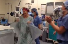 Cancer sufferer holds dance party moments before double mastectomy