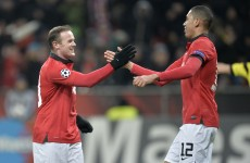 Rooney stars with four assists as United run riot in Germany