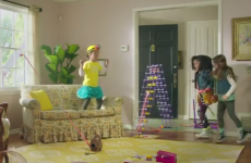 This ad wants little girls to dream of being engineers – not princesses