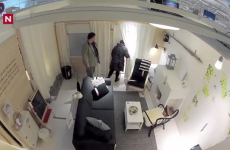 WATCH: Prank sees people trapped in pretend Ikea rooms