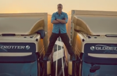 Jean-Claude Van Damme performs 'the most epic of splits' in new ad