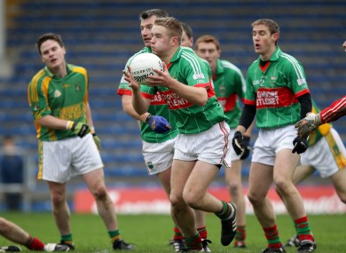 Noel McGrath was part of today's victorious Loughmore-Castleiney side.