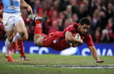 Wales run in four tries in convincing win over Argentina