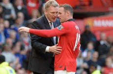 Moyes happy with Rooney fitness, despite Fergie comments
