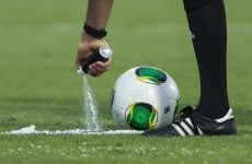 FIFA approves vanishing spray at Club World Cup