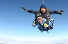 100-year-old man skydives to celebrate his birthday