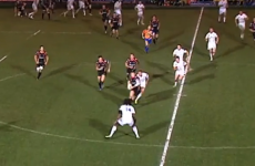 VIDEO: Back-peddling scrum sets up stunning Dragons try