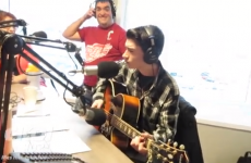 16-year-old sings Blue Christmas in unbelievable Elvis impersonation