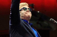 Elton John criticises Russia's anti-gay laws on Moscow stage