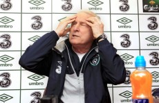 Trapattoni again questions Irish squad quality as he looks to new adventure