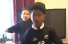 VIDEO: Even when kids do the Haka it's intimidating