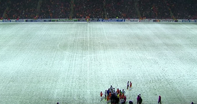 Galatasaray-Juventus match abandoned following snow storm