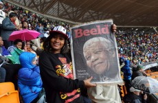 "South Africans honour ""giant of history"", Madiba"