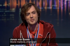 World Memory Champion struggles to remember Newsnight credits