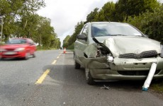 One in seven head traumas are caused by road collisions