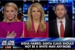 "Fox News presenter says it's a ""verifiable fact"" that Santa is white"