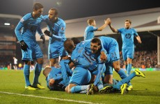 Spurs, City win on goal-crazy night in the Premier League