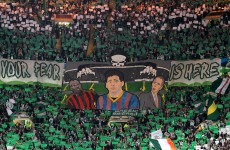 Celtic ban 128 fans and close Green Brigade Section